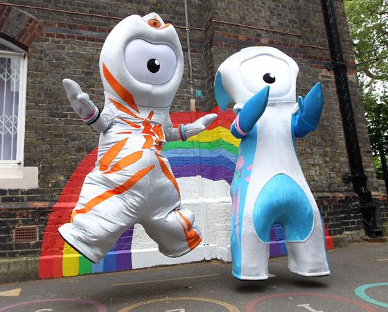 ´Wenlock e Mandeville´ - Jogos Olímpicos de Londres (2012): Os dois mascotes ingleses são gotas de aço com câmeras no lugar dos olhos. Eles representam o começo da Revolução Industrial, ocorrida no Reino Unido. Mas, confesse, eles lembram mesmo é um robô de um reality show cheio de câmeras, não é?