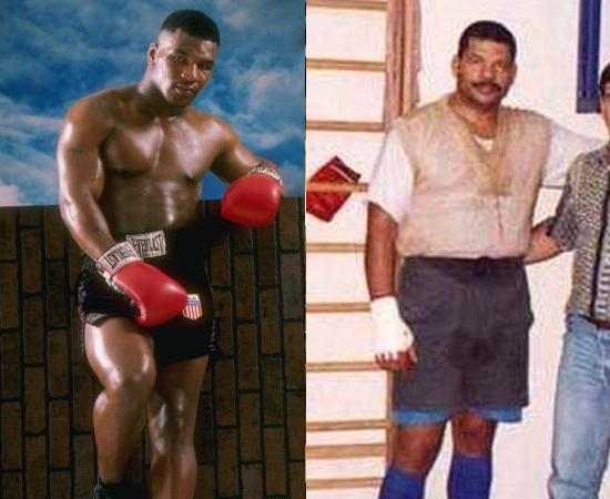 Boxe era o MMA da época e Mike Tyson o Anderson Silva. Mas muita gente ainda acreditava que Maguila ganharia muita coisa.
