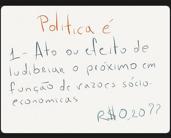#minhapolitica Felipe Nascimento, no Twitter