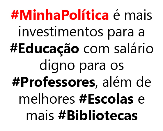 #minhapolitica Uariton Boaventura, no Twitter