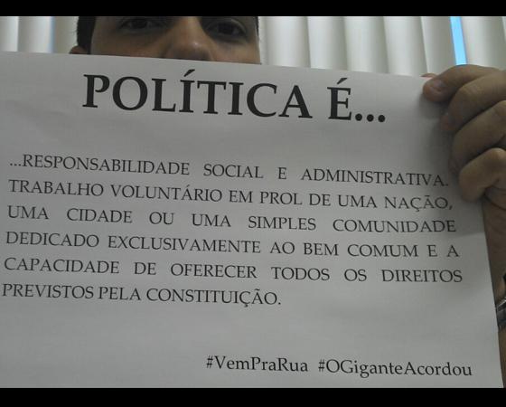 #minhapolitica Mateus Sousa, no Google +