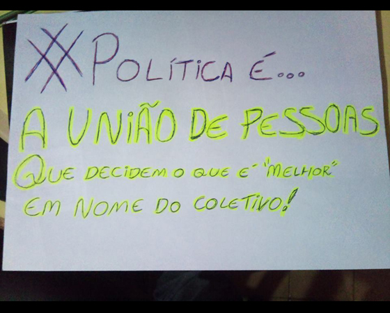 #minhapolitica Renato Alvarenga, integrante da Liga SUPERextraordinária, no Facebook