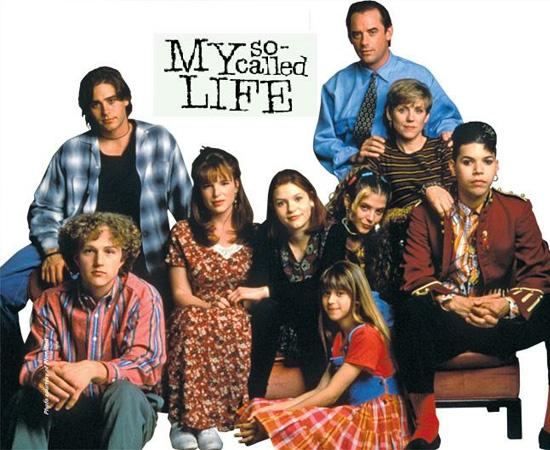 Minha vida de cão (1994) é uma série de TV que contava o dia a dia de alguns adolescentes.