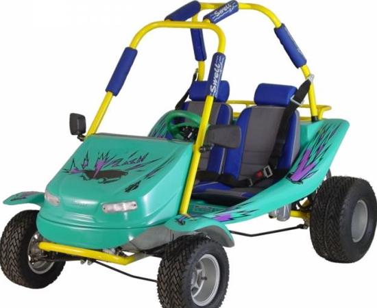 MINI BUGGY - O carrinho motorizado fazia muito sucesso nos anos 1980 e 1990, mas o preço não era nada convidativo.