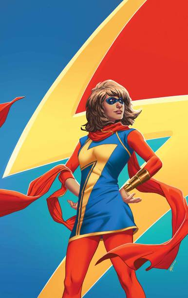 Miss Marvel é uma dasd personagens mais queridas da Marvel atualmente. A heroína adolescente de origem paquistanesa,Kamala Khan, também terá a capa desenhada porEmanuela Lupacchino