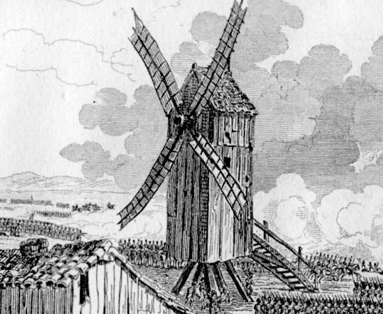 MOINHO DE VENTO (1589) - Durante o Renascimento, o engenheiro Agostino Ramelli tornou-se um grande pesquisador de equipamentos que facilitassem a prática da agricultura e distribuição de alimentos. Em seu livro The Diverse and Artifactitious Machines of Captain Agostino Ramelli, ele descreveu o funcionamento de moinhos de vento (que já eram rudimentarmente utilizados por produtores rurais)