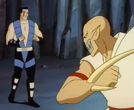 Mortal Kombat - Defensores do Reino (1996) é um desenho animado sobre as batalhas contra Shao Kahn.