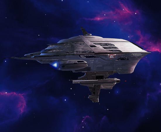 Axiom é uma das naves espaciais do filme Wall-E. Totalmente automatizada, ela é o novo lar dos humanos que evacuaram a Terra.