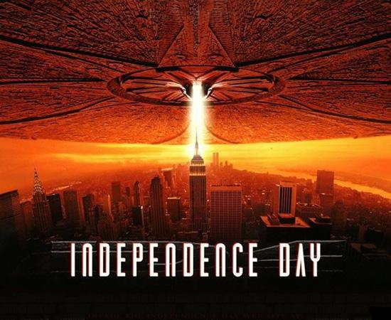 Já esta nave mãe aparece no filme Independence Day, estrelado por Will Smith.