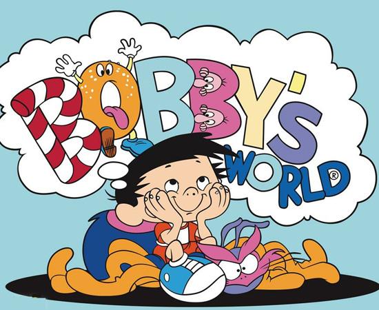 O Fantástico Mundo de Bobby (1990) é um desenho animado sobre um garoto que tem uma grande imaginação.