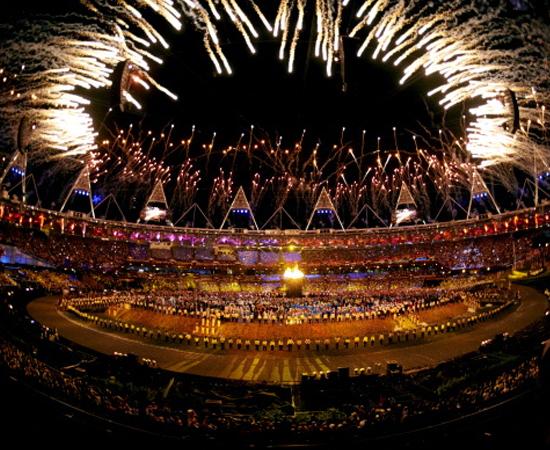 No dia 27 de julho, o mundo acompanhou a cerimônia de abertura das Olimpíadas de Londres.