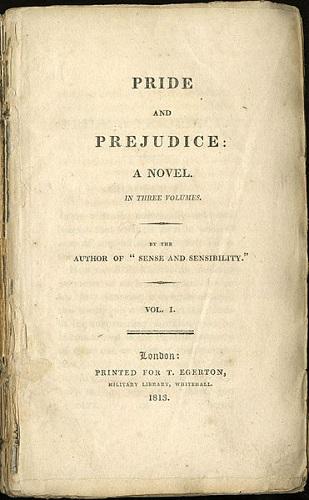 <i>Orgulho e preconceito</i> poderia ter se chamado <i>Primeiras impressões</i>. Até que faz sentido, considerando o ódio à primeira vista que aconteceu entre Elizabeth Bennet e Sr. Darcy. Mas não teria o mesmo charme do título definitivo da obra de Jane Austen publicada em 1813.