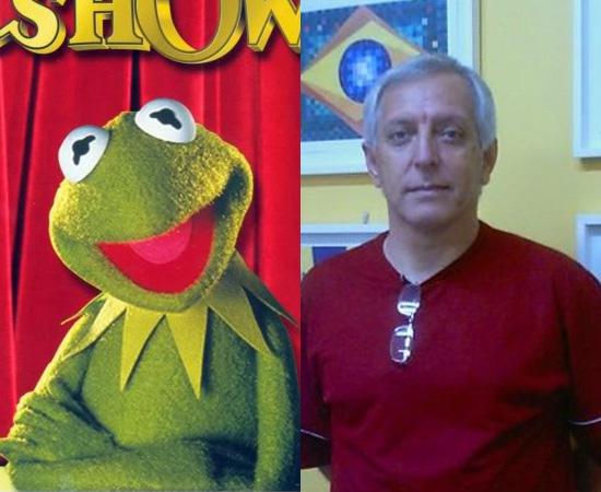Dublador: Orlando Viggiani. Gravou a voz de Caco, o Sapo, para The Muppet Show. Também dublou George (Os Jetsons).