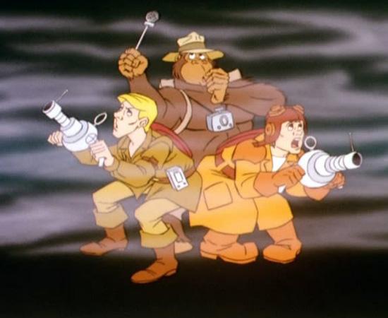 Os Caça-Fantasmas (1986) é um desenho animado que conta a história de um grupo de amigos que combate atividades paranormais.