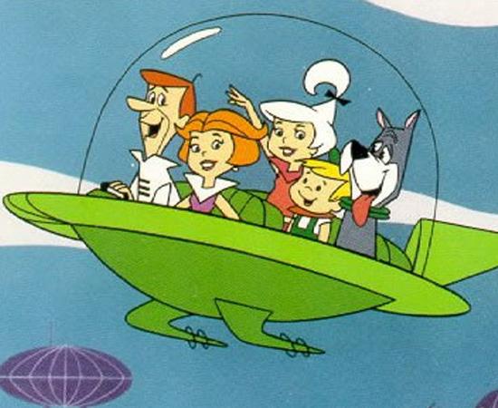 Os Jetsons (1962) é um desenho animado que conta a história de uma família do futuro.