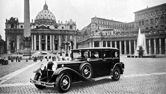 1930: Mercedes-Benz Nürburg 460