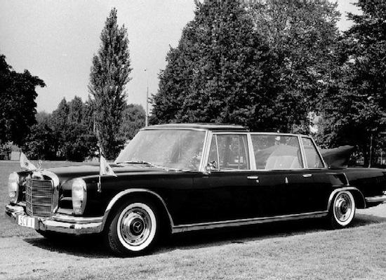 1965: Mercedes-Benz 600 Pullman