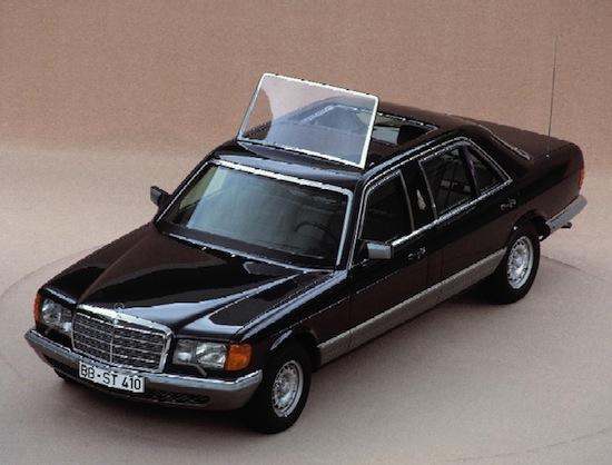 1985: Mercedes-Benz 500 SEL W126