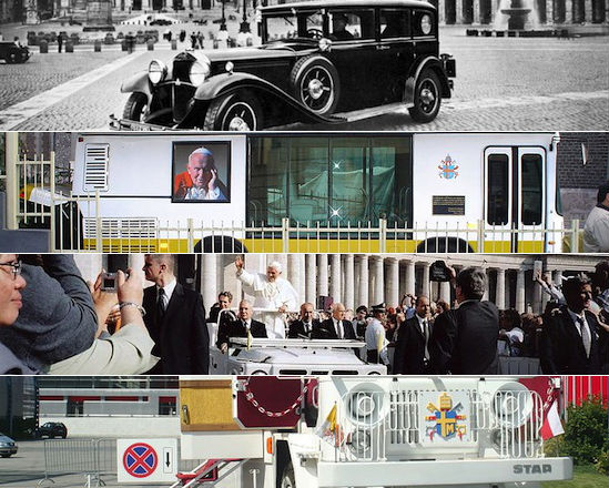 O papamóvel tem sido, por décadas, o carro oficial para transportar o pontífice em meio às multidões que ele arrasta. Veja agora como esse veículo evoluiu ao longo do tempo.