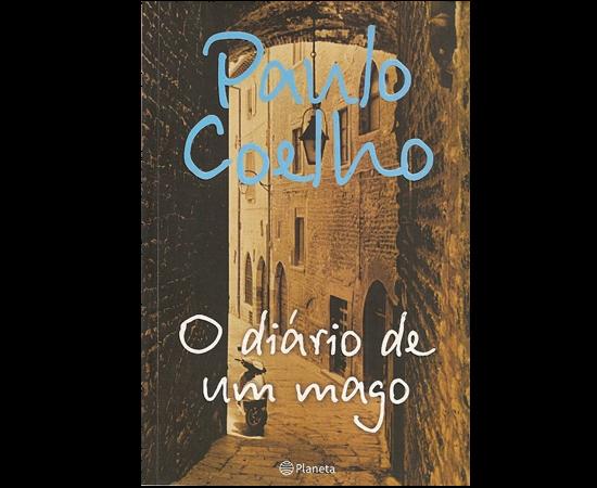 Paulo Coelho lançou O Diário de um Mago. Mas não vendeu muito.