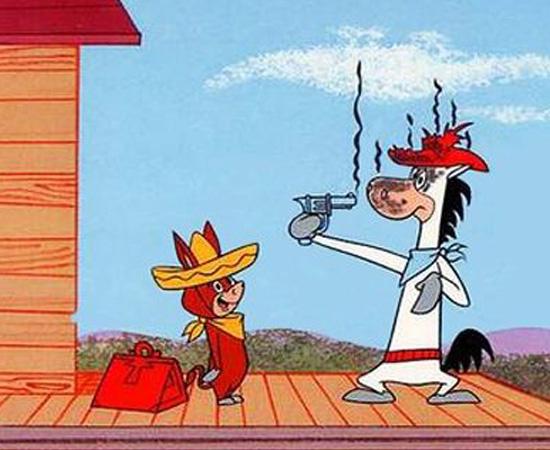 Pepe Legal (1959) é um desenho sobre um cavalo antropomorfo que combate o crime.
