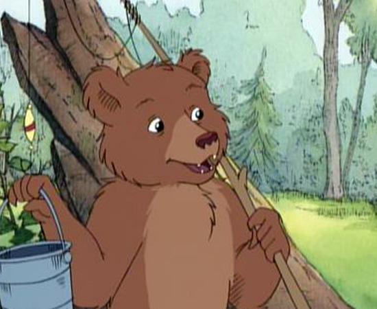 O Pequeno Urso (1995) é um desenho animado sobre um urso que vivia aventuras com seus amigos em uma floresta.