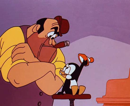 Picolino (1953) é uma série animada sobre um pinguim muito teimoso e atrapalhado.