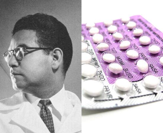 PÍLULA ANTICONCEPCIONAL - O primeiro contraceptivo oral foi sintetizado em 1951, pelo químico mexicano Luis E. Miramontes. A invenção foi fundamental para o controle de natalidade.