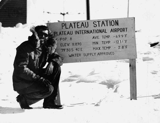 Onde: Estação Plateau, Antártica