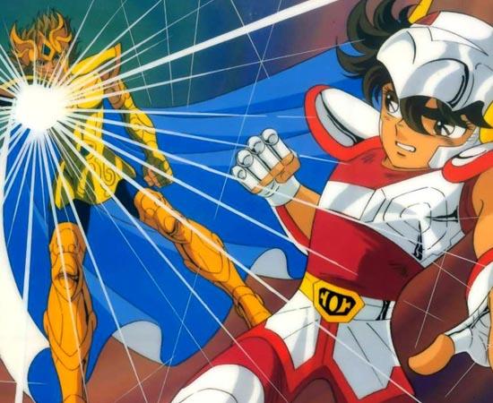 PRÊMIOS - Os Cavaleiros do Zodíaco (Saint Seiya) foi eleita a melhor série de 1987 no Anime Grand Prix.