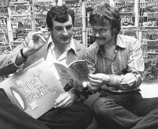 PÚBLICO-ALVO - Os jovens dos anos 1980 e 1990 que eram fascinados por obras sobre a exploração espacial - a modinha da época.