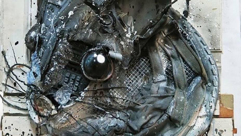 """A<a href=""""https://www.instagram.com/b0rdalo_ii/"""" target=""""_blank"""">conta do artista no Instagram</a>e seu<a href=""""http://www.bordaloii.com/#/big-trash-animals/"""" target=""""_blank"""">site</a>trazem mais imagens do projeto Trash Animals e seus outros trabalhos."""