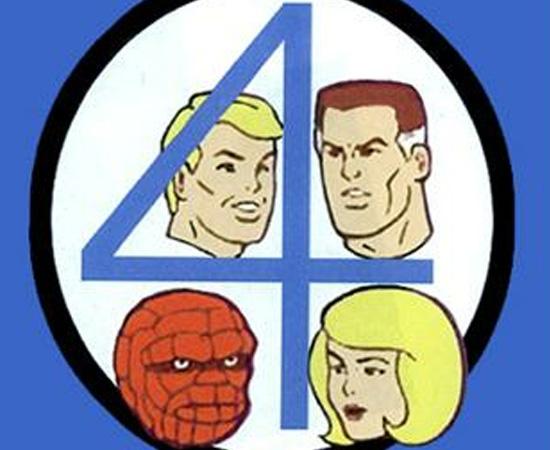 O Quarteto Fantástico (1978) é uma série animada que mostra a história de quatro humanos que se tornam super-heróis.