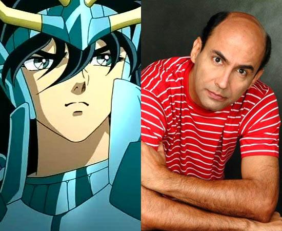 Dublador: Élcio Sodré. Fez a dublagem do Shiryu de Cavaleiros do Zodíaco. Também deu voz a Sayid (Lost) e ao Zé Colméia.