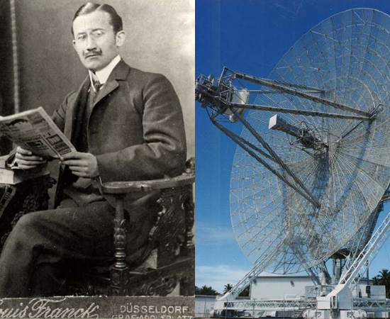 RADAR - O primeiro dispositivo para detectar objetos a longas distâncias foi construído em 1904 pelo cientista alemão Christian Hülsmeyer.