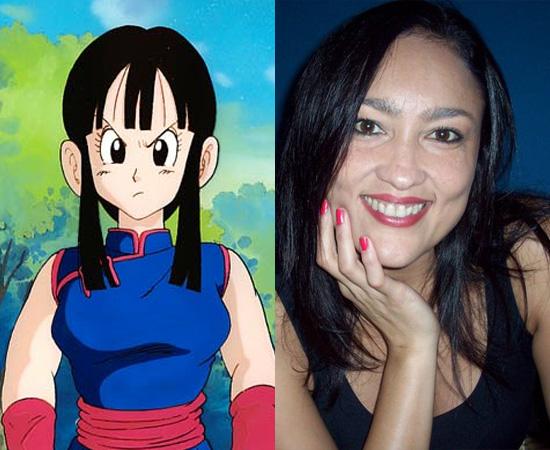 Dubladora: Raquel Marinho. É a dona da voz de Chi Chi (Dragon Ball) e da Oficial Jenny (Pokémon).