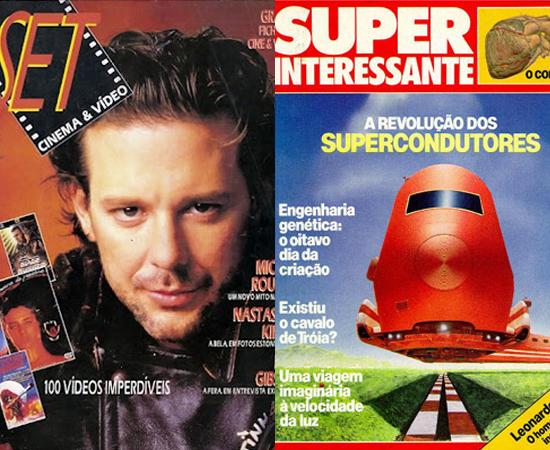 Surgem as revistas SET e SUPERINTERESSANTE (rá!)