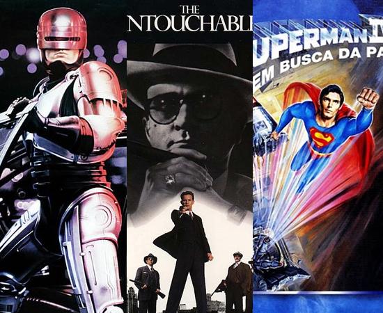 No cinema, ainda tinha Robocop, Os Intocáveis e Super-Homem IV, que o pessoal da época também achou bem ruim.