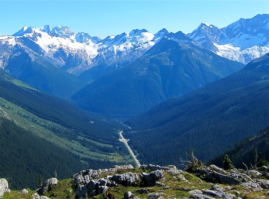 Onde: Rogers Pass, Canadá