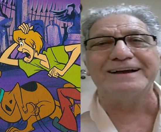 Dublador: Mário Monjardim. Imortalizou a voz de Salsicha (Scooby-Doo).