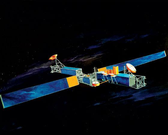 3,3% dos votos foram para a invenção do satélite, que ficou em 9º lugar.