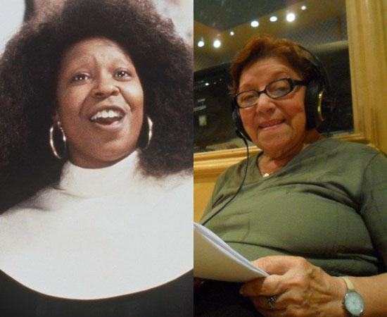 Dubladora: Selma Lopes. Fez a voz de vários personagens da atriz Whoopi Goldberg. Também dublou Vovó Piedade (A Usurpadora) e Vozinha (Ursinhos Gummi).