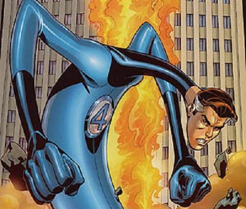 Reed Richards é o Senhor Fantástico. O personagem do Quarteto Fantástico é um cientista superdotado.