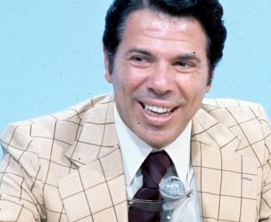 Silvio Santos era Silvio Santos. O cara da TVS, que virou SBT.