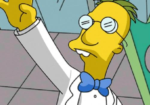 John I.Q. Nerdelbaum Frink é o cientista da série <i>Os Simpsons</i>, que não poderia ficar de fora desta lista.
