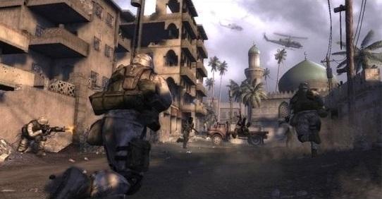 A invasão do Iraque pelos Estados Unidos foi polêmica por si só. O jogo <i>Six Days in Fallujah</i> causou revolta ao colocar o jogador dentro de uma batalha no Iraque. Até veteranos de guerra criticaram a ideia.