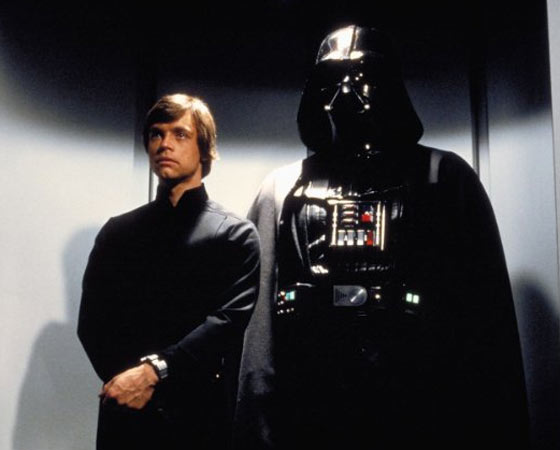 ´Não. Eu sou seu pai´ - Darth Vader