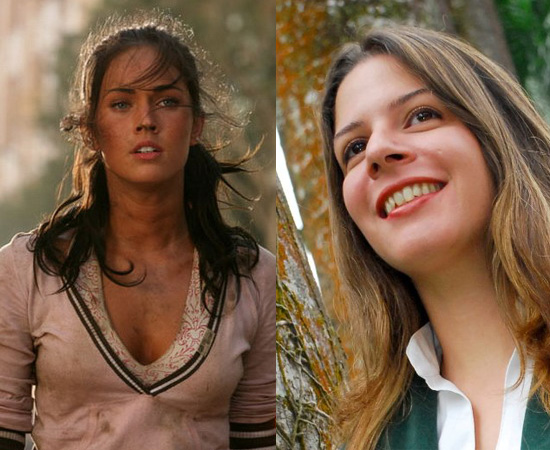 Dubladora: Sylvia Salustti. Fez a dublagem de Megan Fox para Transformes. Também deu voz a Piu-Piu e Jean Grey (X-Men: A Série Animada).