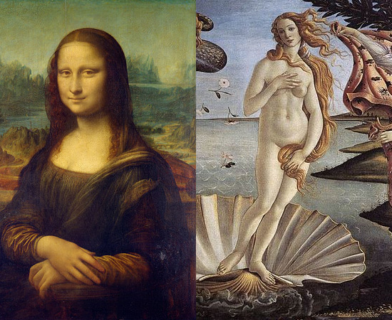 TELAS - A superfície começou a ser usada para pinturas durante a Renascença. Anteriormente, os pintores usavam superfícies de madeira, que se desgastavam mais facilmente com o tempo.