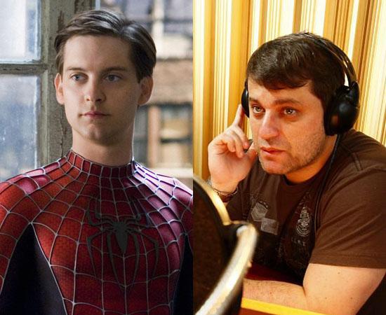 Dublador: Manolo Rey. Deu voz a Peter Parker (Homem-Aranha) e também dublou o Salsicha de Scooby-Doo.